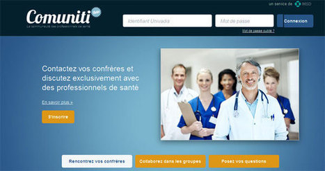 Comuniti : communauté médicale par Univadis | Silicon Pharma | Scoop.it