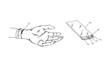 Apple patent app describes flexible, wearable, watch-like AMOLED device | Technology on the Body | Scoop.it
