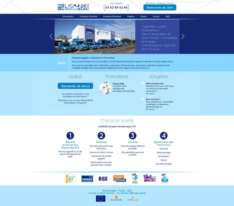 Site internet Drupal pour Ligardes | Création sites internet Drupal & Magento made in Gers - Toulouse | Scoop.it