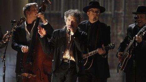 Le Nobel remis à Bob Dylan ravit les uns et horrifie lesautres - Radio Canada | Bruce Springsteen | Scoop.it