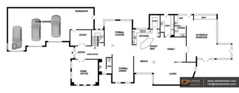2D Floor Plan Design – An age old practice that is still valued for architectural design communication | CAD Resolution | Scoop.it