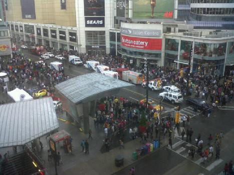 Toronto Eaton Centre shooting kills 1, injures 7 - Toronto - CBC News | txwikinger-news | Scoop.it