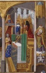 Un nouveau tableau de la basilique au musée d'art et d'histoire - leJSD   Saint-Denis remonte sa flèche   Scoop.it