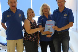 Adur East Lions present Worthing Hospital with three new nebulisers | Western Sussex Hospitals NHS Foundation Trust | Scoop.it
