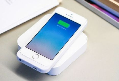 Ark wireless phone charger a Kickstarter hit - Product Reviews | Battery Powered iphone charger | Scoop.it