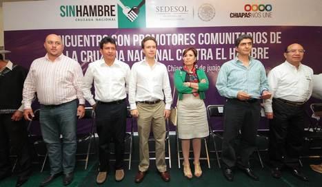 Beneficiará Cruzada Nacional Contra el Hambre a más de 2.8 ... - El Heraldo de Chiapas   Trabajo social comunitario   Scoop.it