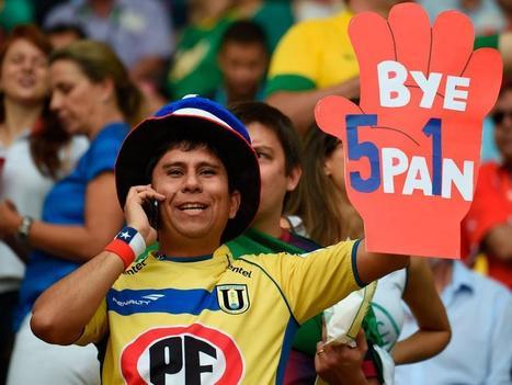 Brasil 2014: Hinchas de España y Chile alientan a su selección - Mundial Brasil 2014 | RPP NOTICIAS | MUNDIAL 2014 | Scoop.it