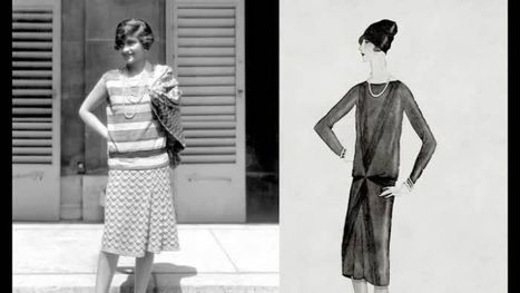 L'évolution de la mode : symbole de l'émancipation des femmes des années folles | Remue-méninges FLE | Scoop.it