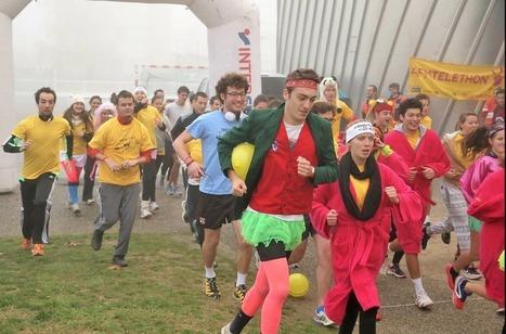Parade, course à pied, aviron : les Toulousains se mobilisent pour le Téléthon | ENSAT | Scoop.it