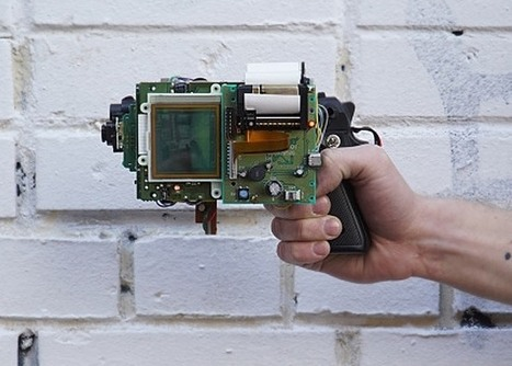 GameBoy And Arduino gbg-8 Photo Printing Gun Created | Raspberry Pi | Scoop.it