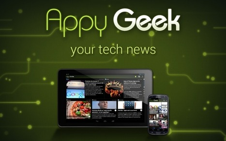 Appy Geek passe en version 3.0 | Applications Iphone, Ipad, Android et avec un zeste de news | Scoop.it