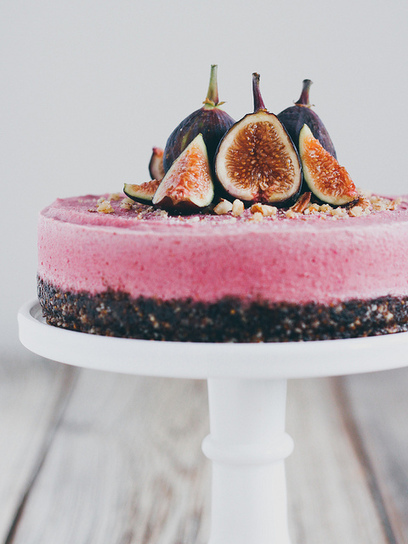Oh, Ladycakes: Raw fig cheesecake | Candy Buffet Weddings, Events, Food Station Buffets and Tea Parties | Scoop.it