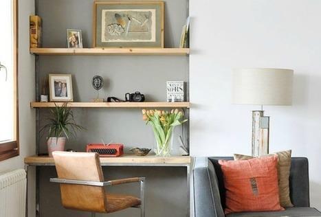 5 idées pour un bureau malin – Cocon de décoration: le blog | Décoration | Scoop.it