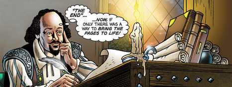 Could a Shakespearean comic book save your classes on the Bard? - TES News   Graphic Novels & Comic Makers   Scoop.it