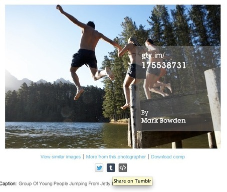 Getty Images jumps into the age of social media with a free embed tool for its photo library | TechCrunch | consumer psychology | Scoop.it