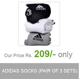 Adidas Multicolour Cotton Formal Socks - Pair Of 3 | eCommerce | Scoop.it