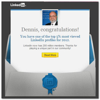 LinkedIn: When the top 5% means 1 of 10 Million | Technology Advances | Scoop.it
