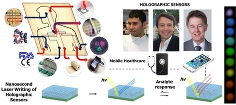 Color-Changing Holograms Track Sick Patients' Progress - PSFK | Radio Show Contents | Scoop.it