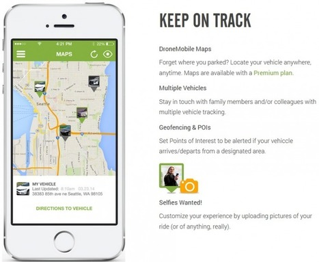 CES 2015: 'DroneMobile' App Allows GPS Vehicle Tracking, Remote Start, and ... - Mac Rumors   Location Is Everywhere   Scoop.it
