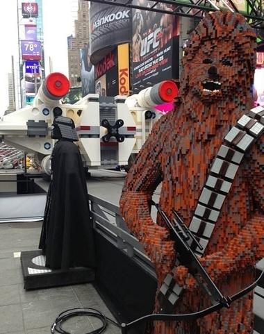 Lego fait son show à Times Square | Événementiel, Luxe, voyages & Innovations | Scoop.it