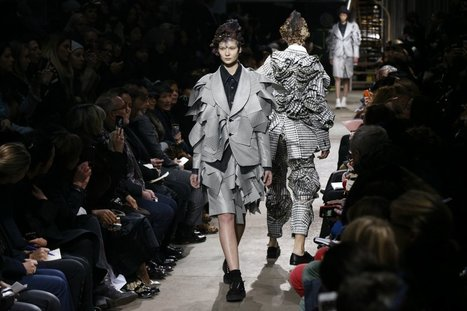 """Comme Des Garcon's """"Infinity of Tailoring"""" - Daily Beast 