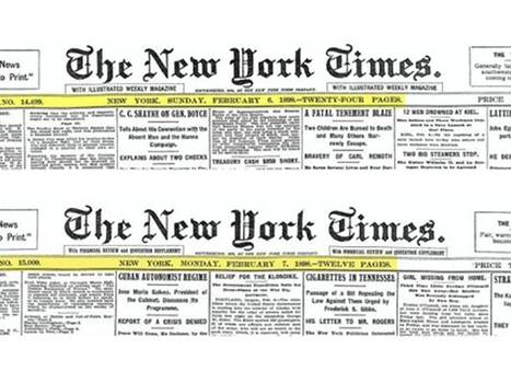 The New York Times had a mistake on its front page every day for over a century | No Such Thing As The News | Scoop.it