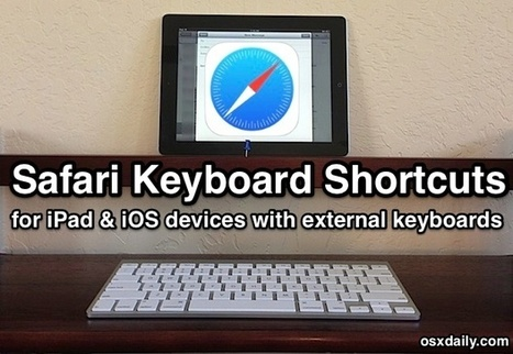5 Helpful Safari Keyboard Shortcuts for iPad with iOS 7   iPads in Education   Scoop.it
