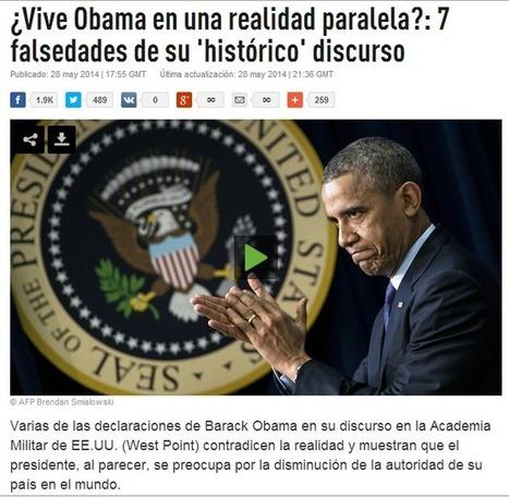 La Excepcionalidad USA: Licencia para MATAR ¿Vive Obama en una realidad paralela? 7 falsedades de su discurso | @AraujoFredy | Scoop.it