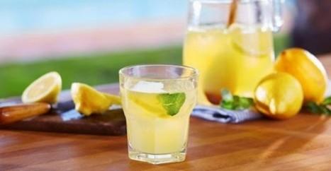 20 λόγοι για να πίνετε νερό με λεμόνι   Greek cuisine   Scoop.it