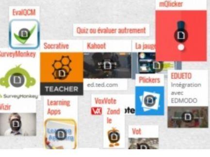 Répertoire d'applications pour technopédagogues | Veille sur les innovations en formation | Scoop.it