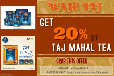 WAH! Taj OFFER   Free Coupon Deals Near by your city   Scoop.it