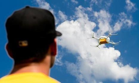 Post startet 2017 kommerzielle Drohnenflüge | Informatik & Robotik in der Schule | Scoop.it