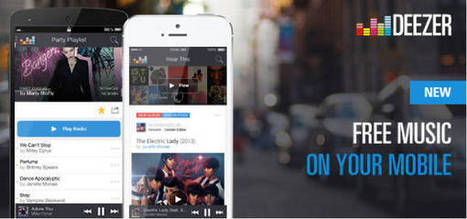 Deezer désormais gratuit sur iPhone & iPad - Worldissmall | L'e-Space Multimédia | Scoop.it