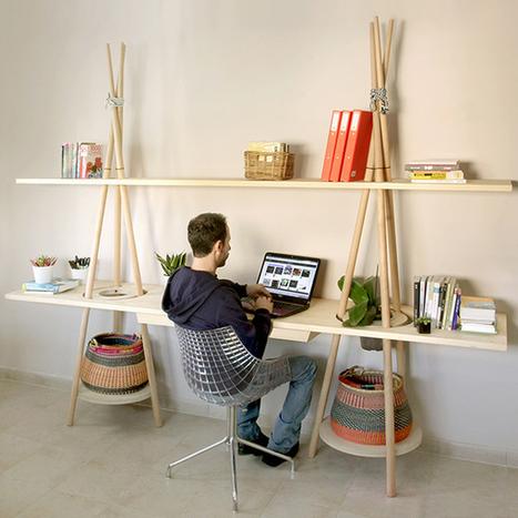 The Tipi Shelving System by JOYNOUT » Yanko Design | Du mobilier, ou le cahier des tendances détonantes | Scoop.it
