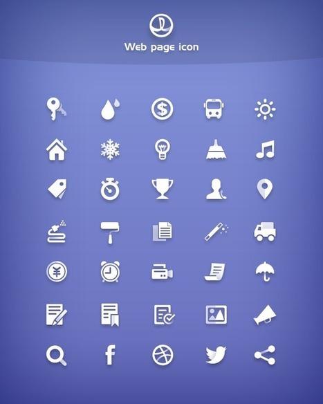 35 Free Simple Icons | Web Design Freebies | Scoop.it