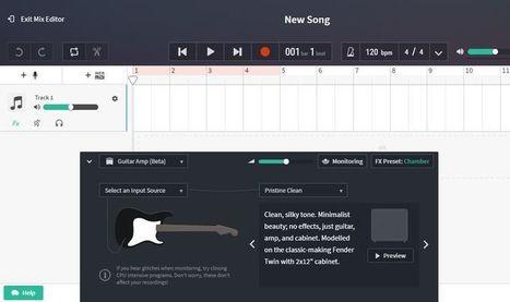 BandLab: plataforma web gratuita para crear música   Eines i Recursos eduTIC   Scoop.it