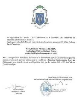Une nouvelle paroisse dans le doyenné | Nouvelles du doyenné et du diocèse | Scoop.it