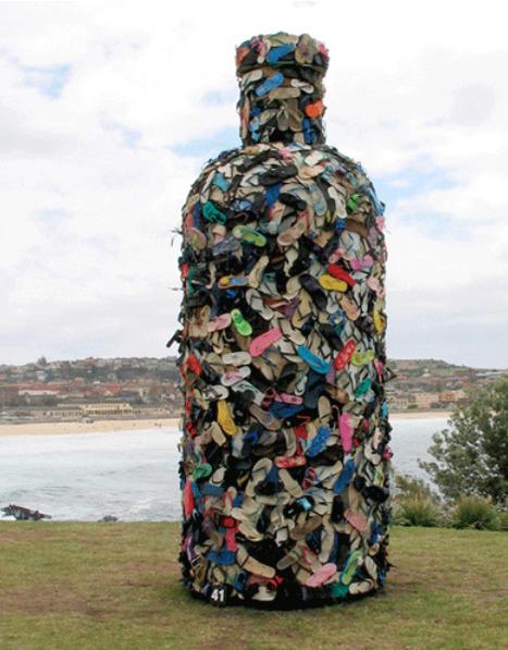 John Dahlsen Environmental Art   recycling   Scoop.it