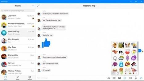 Facebook Messenger para Windows 10 se actualiza con llamadas de voz y video   Aprendiendoaenseñar   Scoop.it