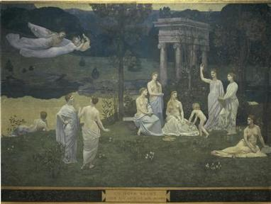 24 octobre 1898 mort de Pierre Puvis de Chavannes | Racines | Scoop.it