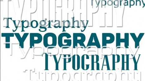 Typography for Motion Graphic Design | Ergonomía | Scoop.it