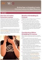 Embedding creative commons licences into digital resources - SCA briefing paper : JISC | Education Research | Scoop.it