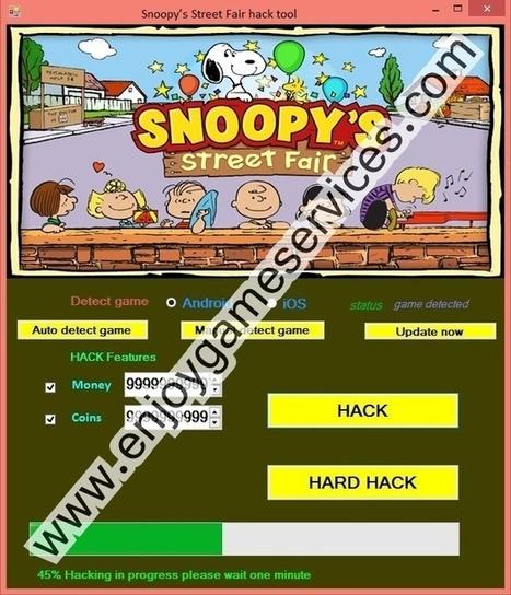 Snoopy's Street Fair hack tool | game enjoy | Scoop.it