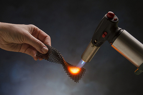 Next Big Future: Breakthrough for customizing heat resistant ceramics into complex shapes for jet engines, ion drives and many other applications | More Commercial Space News | Scoop.it