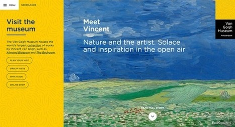 IL Y A 1 AN ... Le Musée Van Gogh lance un nouveau site web et enrichit son application mobile | Clic France | Scoop.it