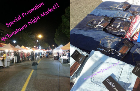 Rosie Jeans are on sale @Vancouver Chinatown Night Market!! | Rosie Jeans | Women Skinny Jeans | Scoop.it
