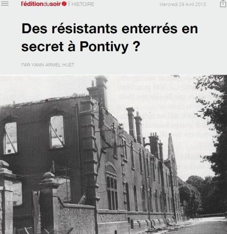 Article du jour (159) : Résistants à Pontivy (56) | Ma Bretagne | Scoop.it
