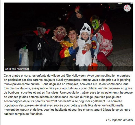 Halloween - Site de mairie-auzielle ! | Vu dans les media | Scoop.it