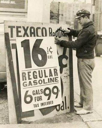 Gas Prices of Yesteryear | Things People want to see | Scoop.it