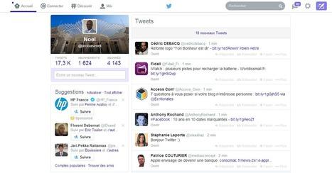 Twitter : Le nouveau design enfin disponible sur le site officiel - #Arobasenet | Médias et réseaux sociaux | Scoop.it